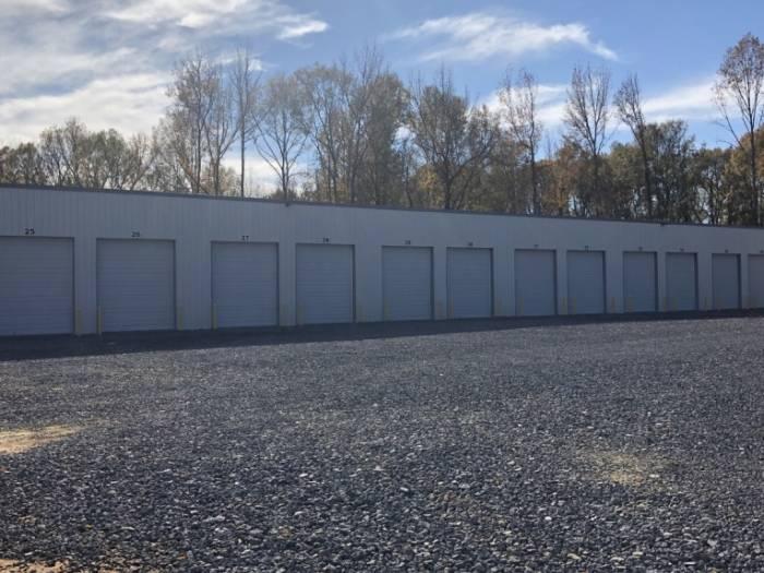 16 X 50 Fully Enclosed Storage Unit